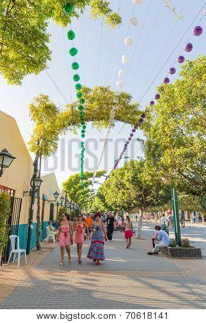 August Fair Of Malaga