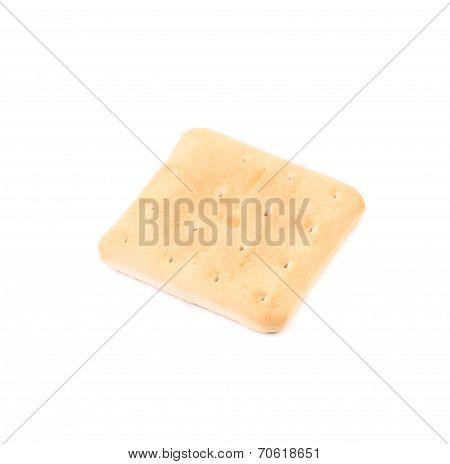 Tasty salted cracker.