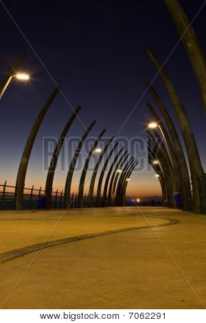 Umhlanga Pier Sunrise
