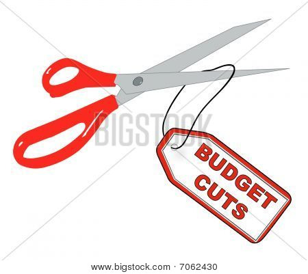 Scissors Cutting Budget Cuts