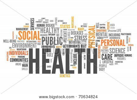 Word Cloud Health