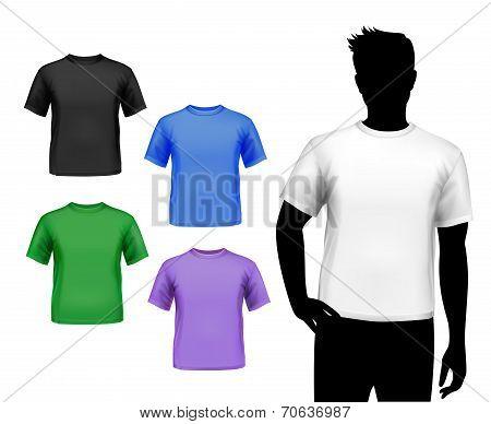 T-shirts male set