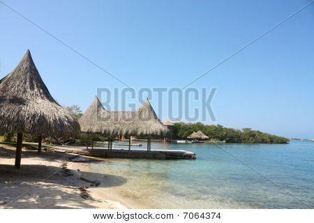 The Rosario Islands. Colombia