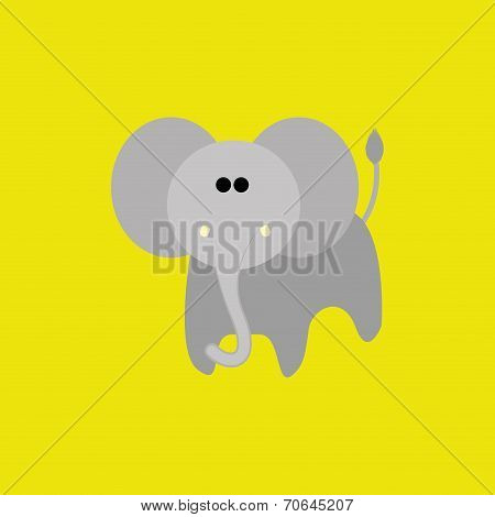 Vector Set Of Different Cartoon Adorable Animals Isolated