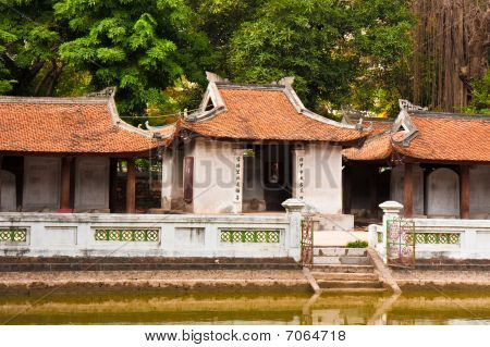 Old Vietnamese Temple