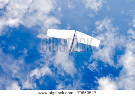 The Paper Plane In The Sky