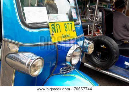 Close Up Of Tuk Tuk