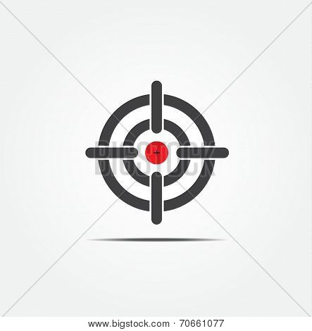 Symbol Of Crosshair