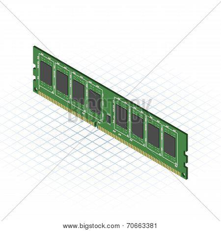Isometric RAM