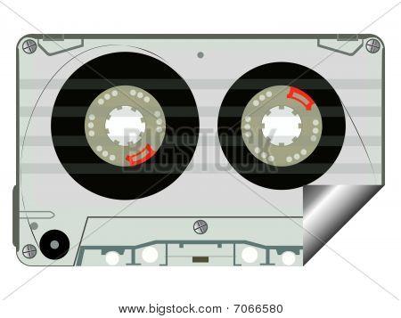 Audio Tape Label