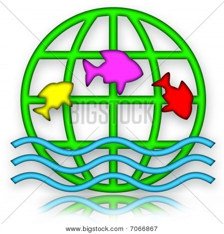 Jumping Fishes and Globe