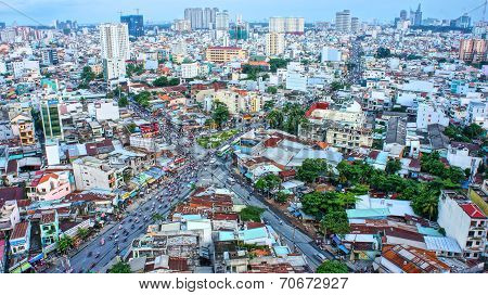 Amazing Panaromic Of Asia City