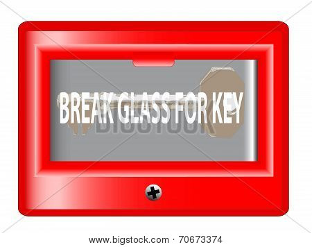 Break Glass For Key