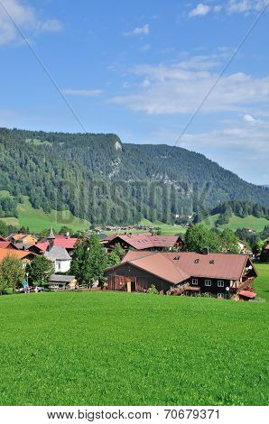 Kornau,Bavarian Alps,Germany