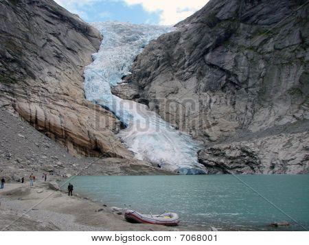 Glacier Briksdal