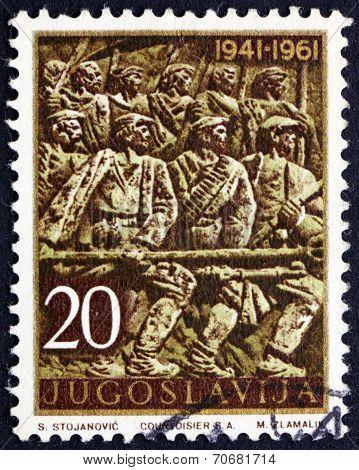 Postage Stamp Yugoslavia 1961 Insurrection, Bosansko Grahovo