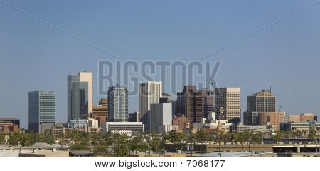 City Of Phoenix Downtown Panorama