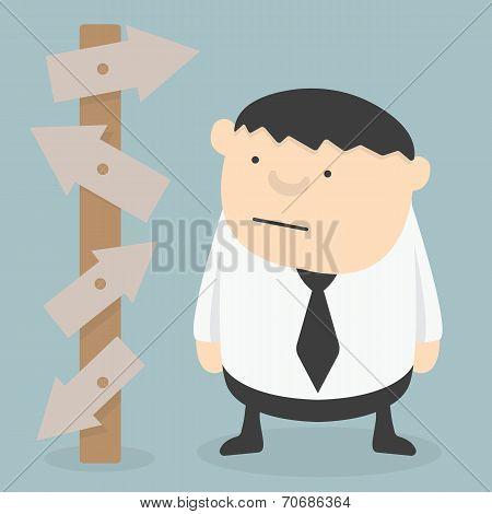 Businessman Choice Eps 10