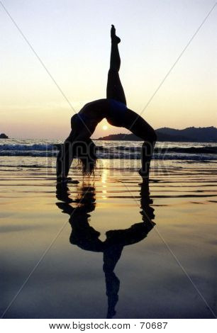Gymnastic Sunset