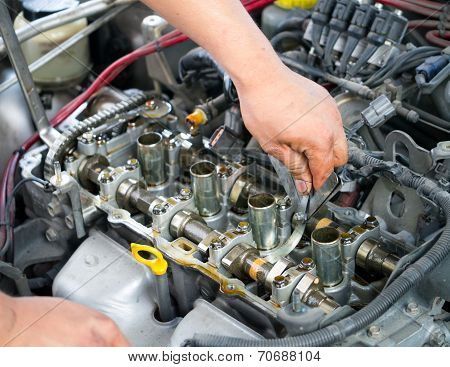 Car Engine Inspection