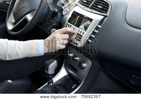 Modern Car Interior Trim