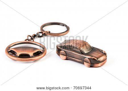 Keychain metal machine