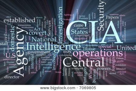 CIA central Intelligence Agency glühend