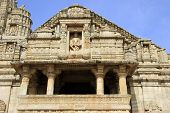 picture of krishna  - Frontal view of temple of Lord Krishna - JPG
