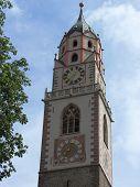 foto of suds  - Merano Bell Tower Sud Tirol - JPG