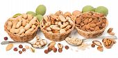 picture of brazil nut  - nuts assorty - JPG