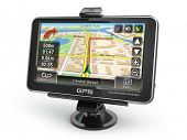 pic of gps  - GPS navigation system on white isolated background - JPG