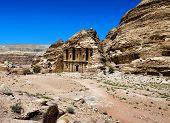 pic of petra jordan  - Ancient temple in Petra - JPG
