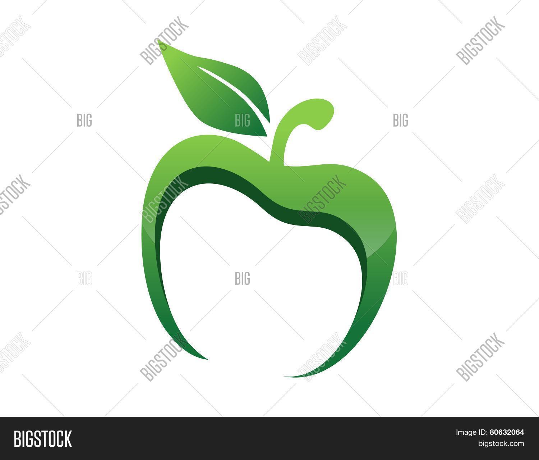 Apple Logo App Nutrition Health Nature Icon Symbol Fresh