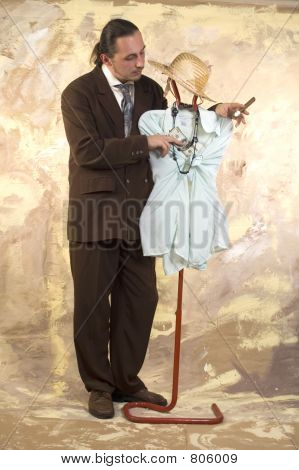 Businessman couple