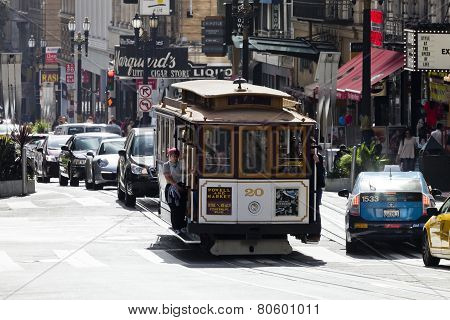 San Francisco-usa, The Cable Car Tram