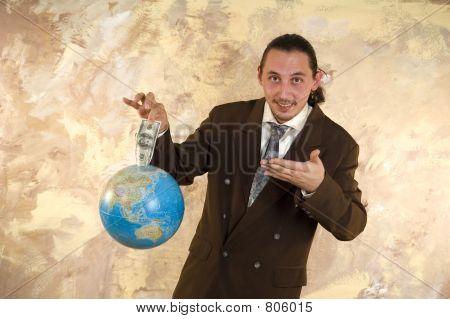 Worldwide businessman