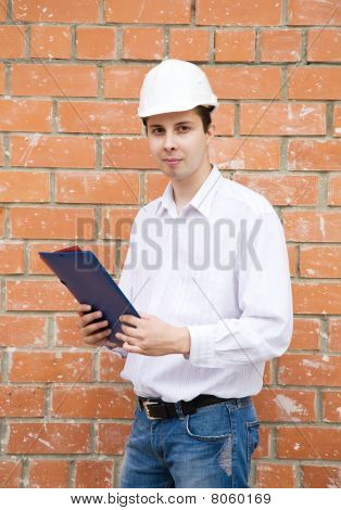Businessman With Documents