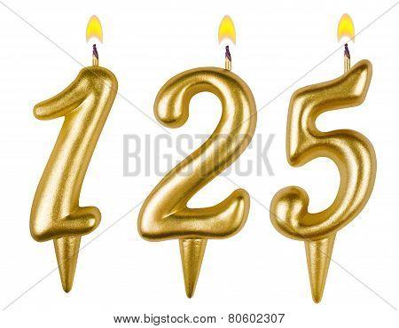 Candles Number One Hundred Twenty Five