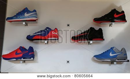 Nike presented new tennis shoes collection during US Open 2014 at National Tennis Center