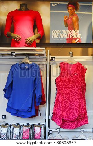 Nike presented new Serena Williams collection during US Open 2014 at National Tennis Center