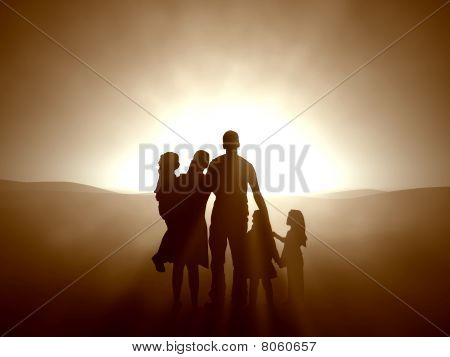 Family in the Light