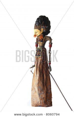 Wayang Golek Puppet