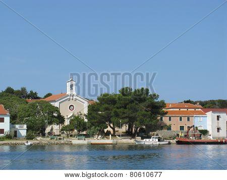 The Peter and Paul church of Ilovik