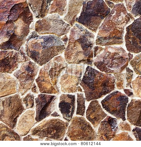 Old wall of natural stone texture grunge background. Great background or texture.