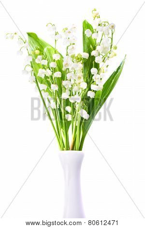 Lilies Of The Valley In a Vase