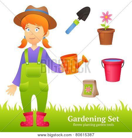 Farmer Woman Set
