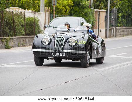 OLD CAR Arnolt Bristol Bolide 1954 milel miglia 2014