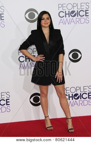 LOS ANGELES - JAN 7: Ariel Winter at the 2015 People's Choice Awards at Nokia Theater L.A. Live on January 7, 2015 in Los Angeles, California