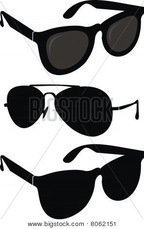 Set of sunglasses