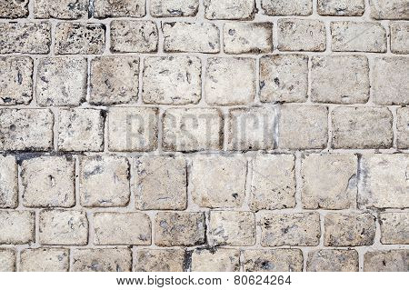 Gray Stone Floor Pavement, Background Texture